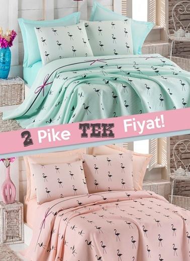 2'li Çift Kişilik Pike-Eponj Home